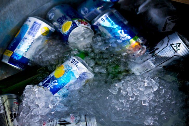 冷たい飲みもの